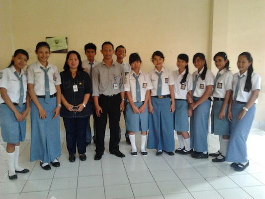 Menguji Ujian Praktek Kerja Nasional Di SMKN 8 Semarang